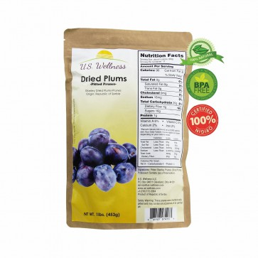 Dried Plums, pitted prunes 1LB imported from Europe