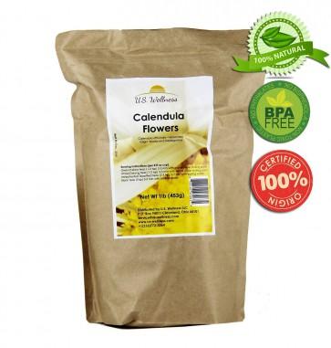 Calendula Flowers Whole, 1lb bulk (Bosnia)