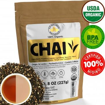 MASALA CHAI TEA 8Oz Organic