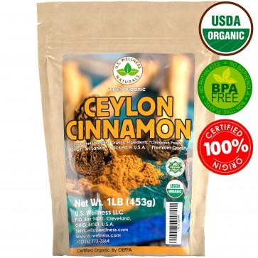 Ceylon Cinnamon Powder (1LB) True Organic Cinnamomum verum