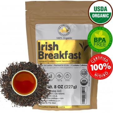 Irish Breakfast Tea, SMOOTH, RICH & WELL-ROUNDED CEYLON (Idulgashinna Estate Light Blend)