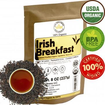 Irish Breakfast Tea, SMOOTH, RICH & WELL-ROUNDED CEYLON (2 Estate Blend)