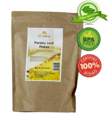 Parsley Leaf Flakes, 1lb bulk (Bosnia)