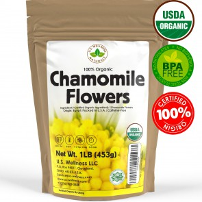 100% Organic Chamomile (Flowers) Herbal Tea 1lbs bulk (Egypt)