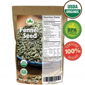 Fennel Seed 100% Organic (Egypt)