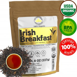 Irish Breakfast Tea, SMOOTH, RICH & WELL-ROUNDED CEYLON (2 Estate Blend)